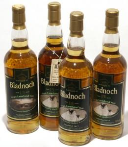 Nuvarande utbud Bladnoch Lowland Malts
