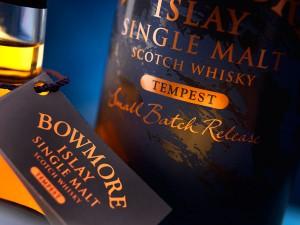 En glimt av Bowmore Tempest, 10yo