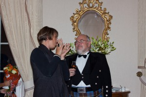 Alison Thorpe konverserar med en nöjd Anders Gjörling
