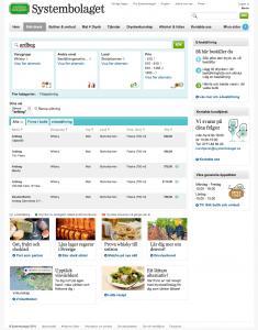 Sökning på Systembolagets nya hemsida