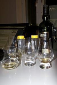 Sviterna efter en whiskyprovning