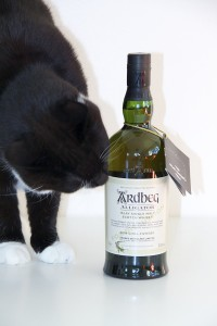 Ardbeg Alligator Committee Reserve under inspektion