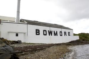 Bowmore sett från havsviken