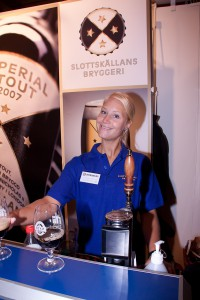 Christine hos Slottskällans Bryggeri