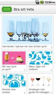Systembolagets app för Android