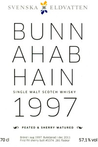 Bunnahabhain Peated & Sherry matured