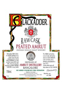 Blackadder Raw Cask Peated Amrut