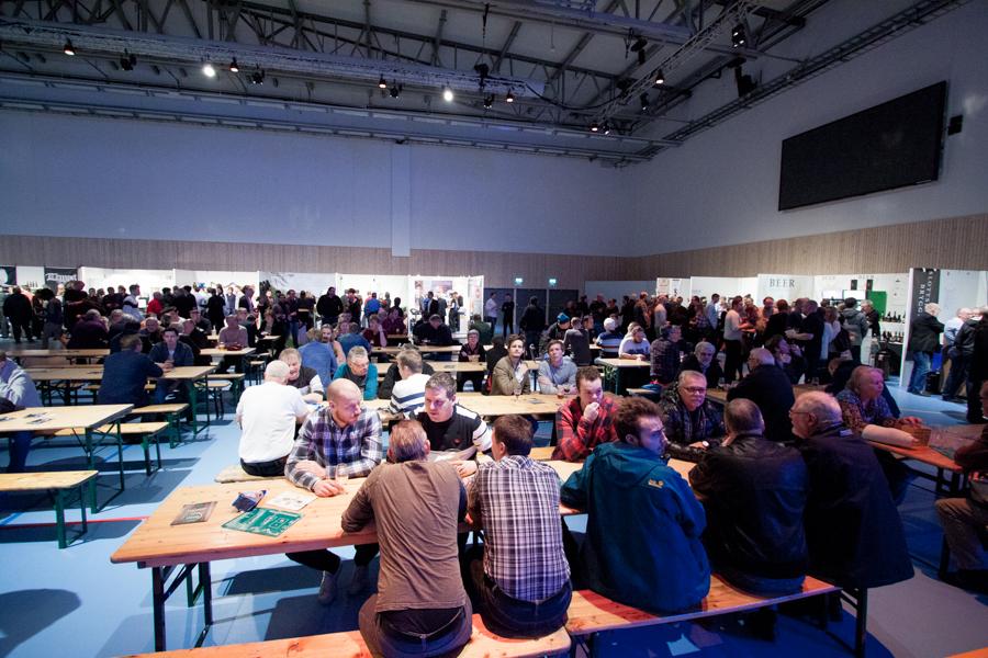 Festivalbord på Uppsala Beer & Whisky Festival